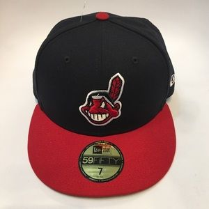 NEW Cleveland Indians New Era 59FIFTY SIZE 7